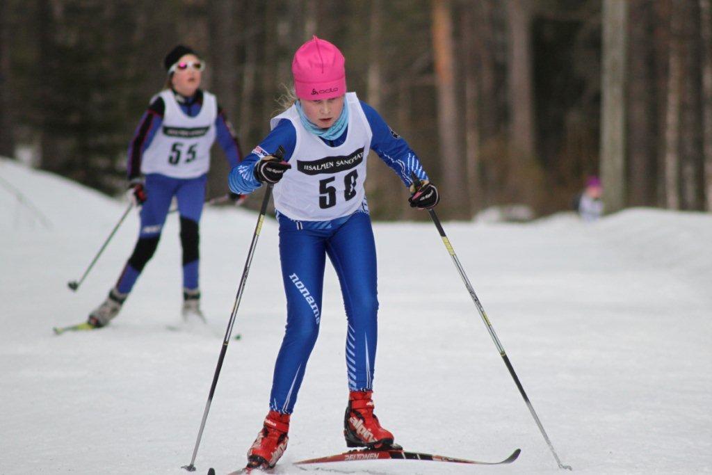 Pohjois-Savon Nuorisocupin finaaliviikonloppu hiihdettiin